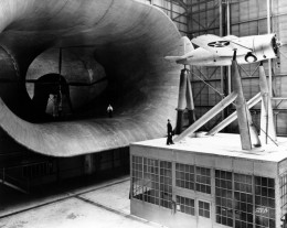 EARLY WIND TUNNEL, LANGLEY RESEARCH CENTER IN VIRGINIA