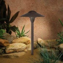 low voltage outdoor lighting | image credit: Amazon