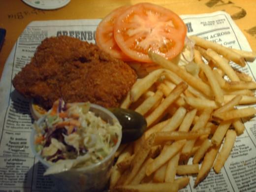 A Dixie Fishwich