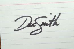 Macro Mode shot of the original wet signature
