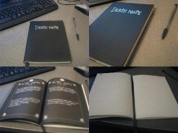 the death note note book