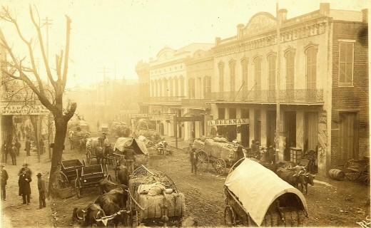 Franklin Street, Natchez, MS 1900