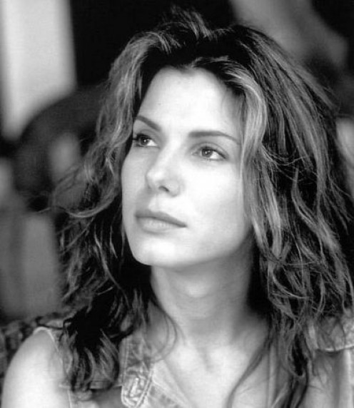 Sandra Bullock in her film Hope Floats.