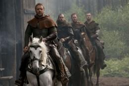 Robin Hood and his companions.