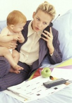 The Cost of Being a Working Mom