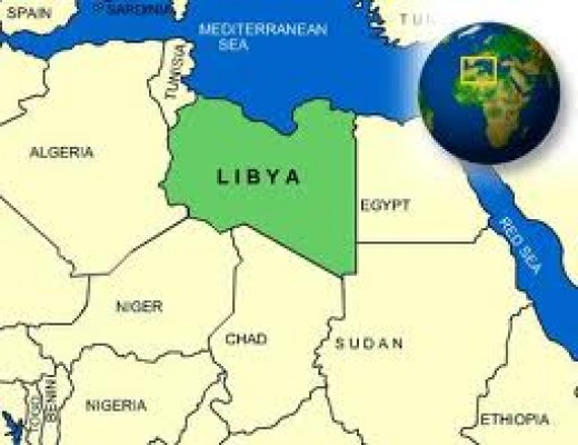 Now you know where Libya is?