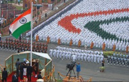 15 Aug at Red Fort