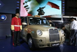 Geely's London taxi in China