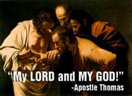 """Having a higher calling and understanding, aren't all Apostles supposed to agree with one another? Apostles Paul and Thomas say, Jesus is God, but Apostle Jack says, """"Jesus is NOT God."""""""
