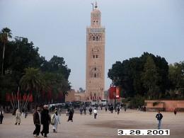 Koutoubia Mosque, Marrakesh, Morocco.