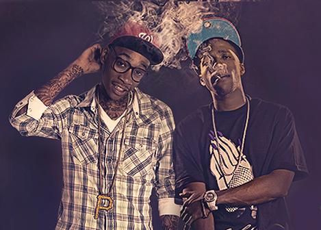 Wiz Khalifa and Curren$y