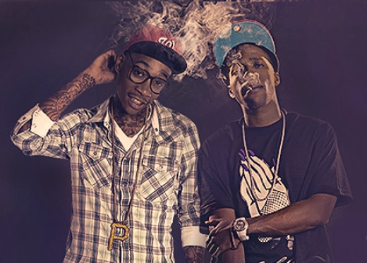 Wiz Khalifa and Curren$y