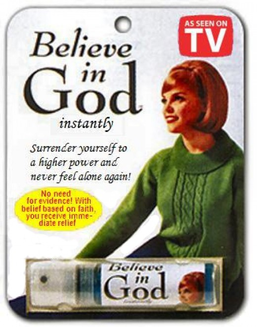 Believe in God Spray
