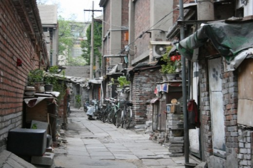 The old streets of Beijing can be good photo opportunities and the chance to look into real life for everyday Chinese.