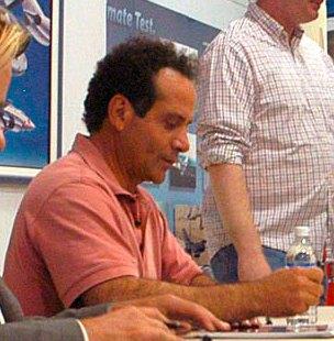 Tony Shalhoub at  Edwards AFB on Septmber 2005.