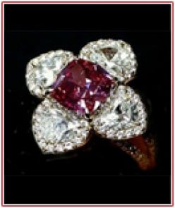 Highest auctioned red diamond