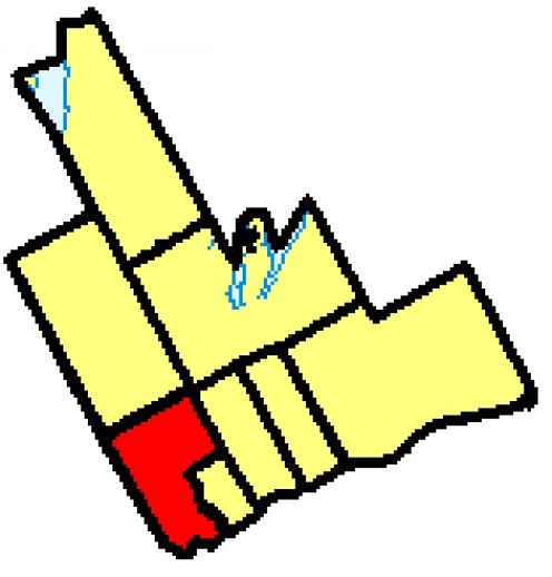 Map location of Pickering, Durham Region