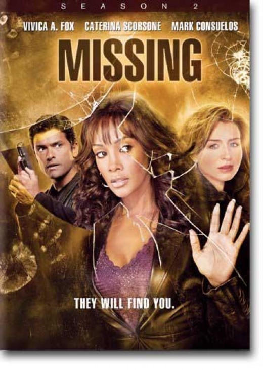Missing (aka 1-800 Missing) Season 2 DVD cover