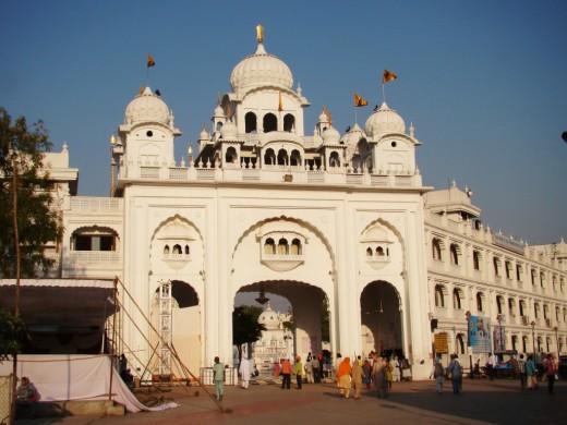 Gate of Takhat Sachkhand Sri Hazur Abchalnagar Sahib