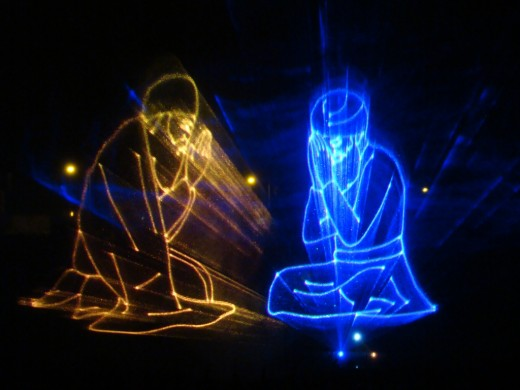 Light & sound show at Guru Govind Bag