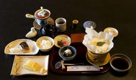 Hotel breakfast in Kyoto