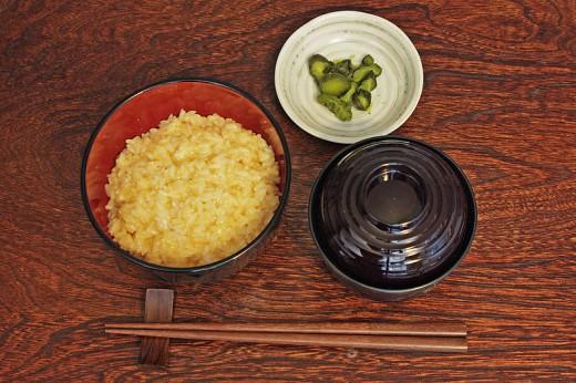 Breakfast at home in Japan