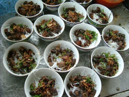 Breakfast in Indonesia