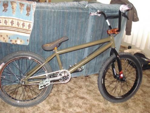 A BMX bike