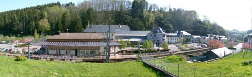 Troisvierges and its railroad station