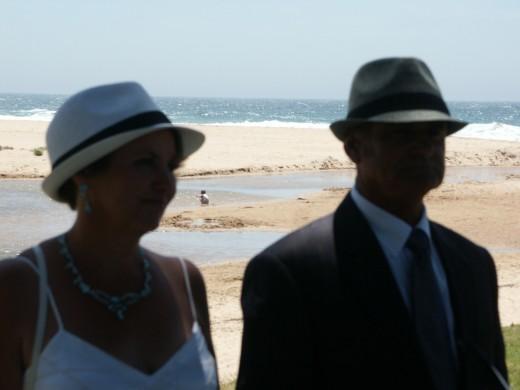 Loved our beach wedding