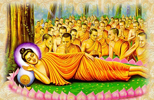 Budhha, creating his own path