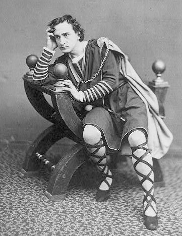 Edwin Booth as Hamlet, ca. 1870