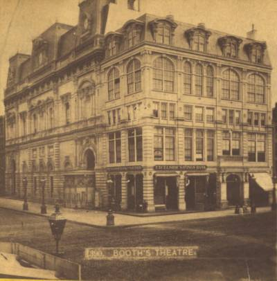 Booth's Theatre, ca. 1880s