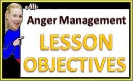 Lesson Objectives for Anger Management