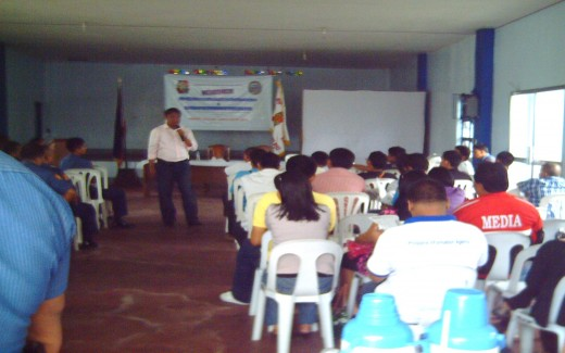 The Lecture on PNP-Media Protocol on Crisis Situation (March 25, 2011)