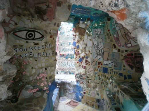 Isaiah Zagar's Magic Gardens, Philadelphia
