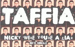 Taffia EP ad in BUZZ magazine