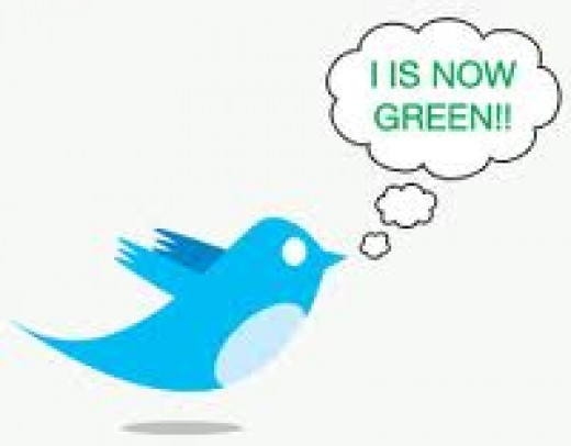 Let Tweet Green