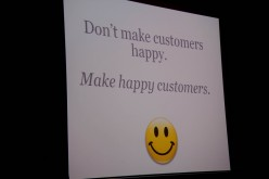 Don't add features to your software to please customers but just make something that suits their needs :)