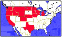 The Red States are with Iodine Deficient Soils