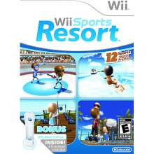 Wii Resort offers a variety of resort style games, including many water sports.