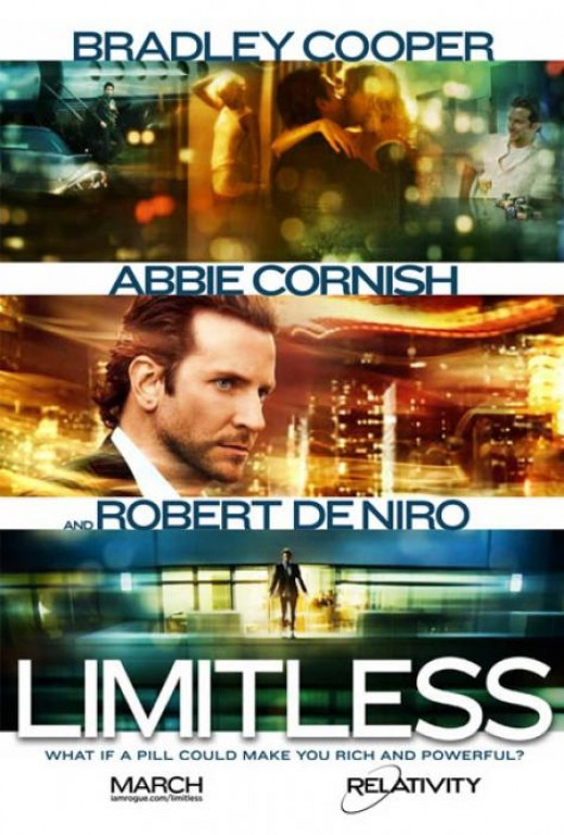 Limitless Movie Poster - Robert De Niro is cool.
