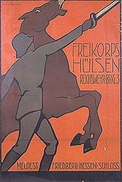 Recruitment Poster for Freikorps Hulsen