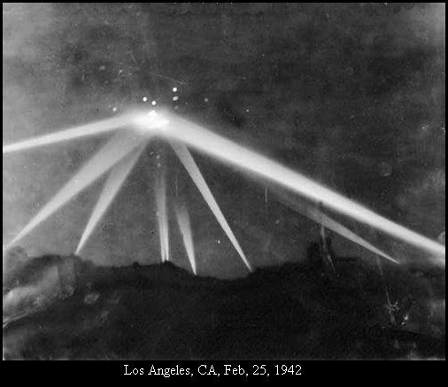 The Iconic Photo of the 'Object' involved in the Battle of Los Angeles.