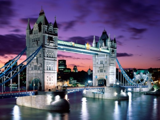 London Evening, Tower Bridge