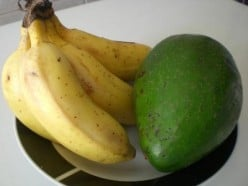 Bananas (or apples) will help ripen your avocados faster, photo from Google images - How to ripen avocados faster