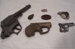 1940's Toy Pistols & Artifacts