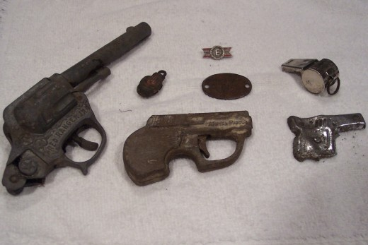 1940's Toy Pistols & Artifacts