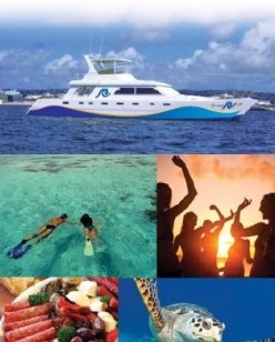 Cruising in Barbados on the Ocean Mist Catamaran