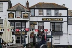 The Chain Locker, Falmouth, Cornwall